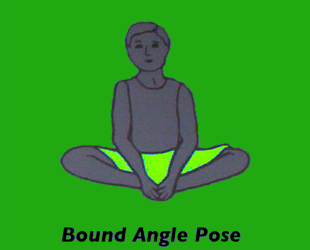 Yoga Bound Angle Pose