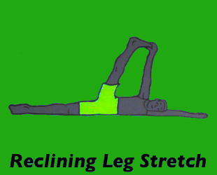 Yoga Reclining Leg Stretch