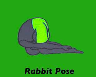 Yoga Rabbit Pose