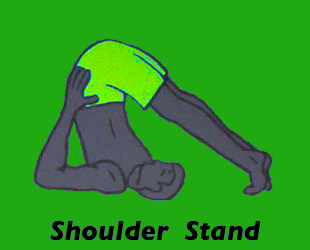 Yoga Shoulder Stand Pose