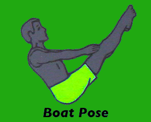 Yoga Boat Pose