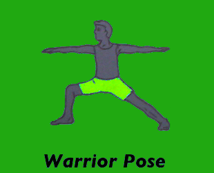 Yoga Warrior Pose
