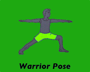 Warrior Pose Left