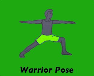 Warrior Pose Left