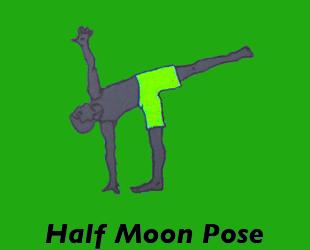 Yoga Halfmoon Pose